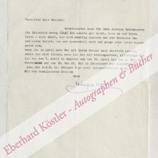 Wagner, Winifred, Festspielleiterin (1897-1980).