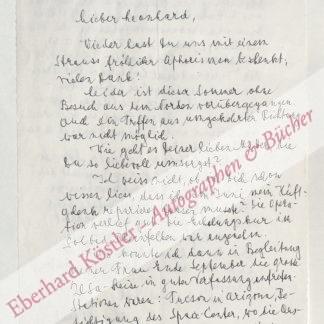 Hofmann, Albert, Chemiker, Entdecker des LSD (1906-2008).