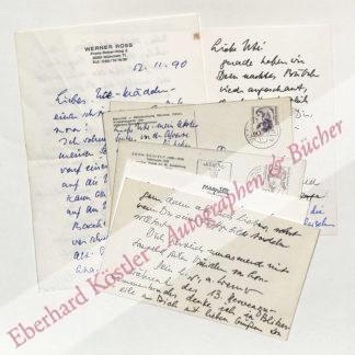 Ross, Werner, Publizist und Literaturkritiker (1912-2002).