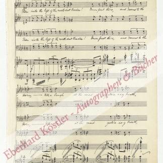 Bornschein, Franz Carl, Komponist (1879-1948).