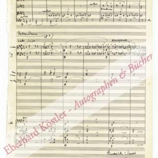 Jacoby, Frederick, Komponist (1891-1952).