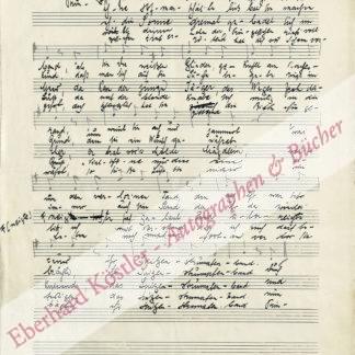 Laszky, Bela, Komponist (1867-1935).