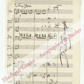 Pick-Mangiagalli, Riccardo, Komponist (1882-1949).