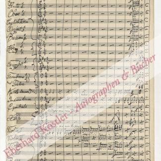 Schoenfeld, Henry (auch: Schoenefeld), Komponist (1857-1936).