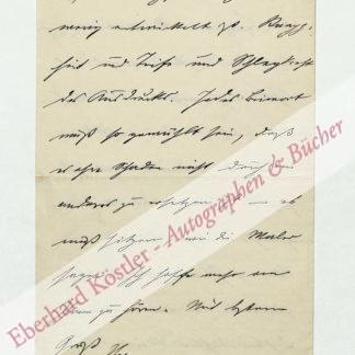 Seidel, Heinrich, Ingenieur und Schriftsteller (1842-1906).