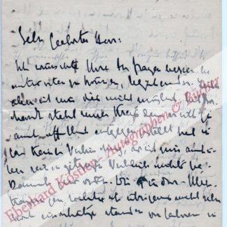 Wolfskehl, Karl, Schriftsteller (1869-1948).