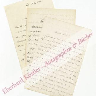 Fastenrath, Johannes, Schriftsteller (1839-1908).