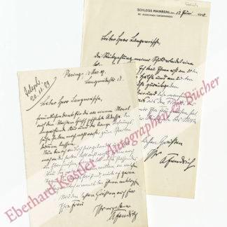 Fendrich, Anton, Schriftsteller und Politiker (1868-1949).