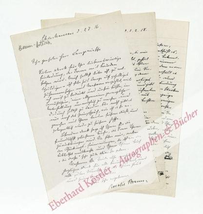 Braun-Artaria, Rosalie, Schriftstellerin (1840-1918).