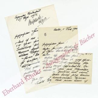Schanz-Soyaux, Frieda, Schriftstellerin (1859-1944).