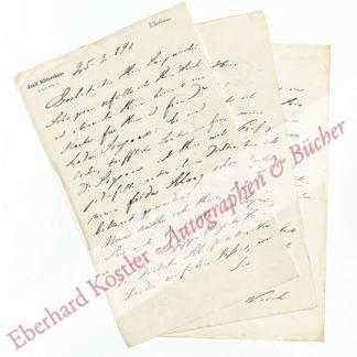 Rittershaus, Emil, Schriftsteller (1834-1897).