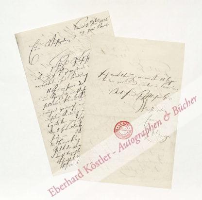 Becker, Johann Joseph Maria, Entomologe und Schmetterlingshändler (1788-1859).