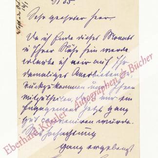Sauret, Emile, Violinist (1852-1920).
