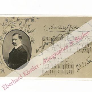 Lehár, Franz, Komponist (1870-1948).