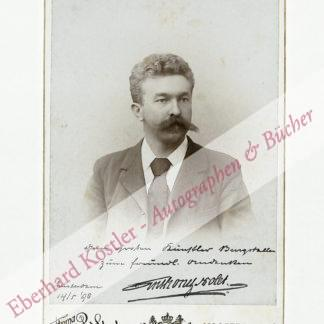 Nolet, Anthony, Weinhändler, Kunstsammler und Mäzen (1867-1961).