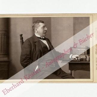 Mottl, Felix, Komponist und Dirigent (1856-1911).