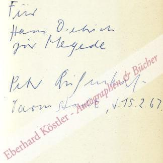 Rühmkorf, Peter, Schriftsteller (1929-2008).