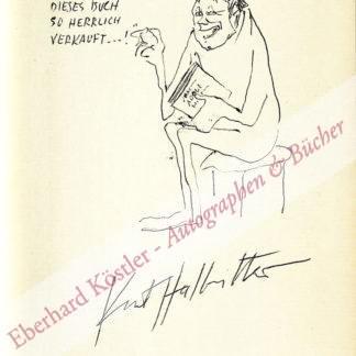 Halbritter, Kurt, Zeichner und Karikaturist (1924-1978).