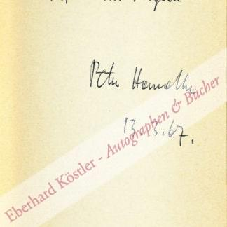 Handke, Peter, Schriftsteller (geb. 1942).