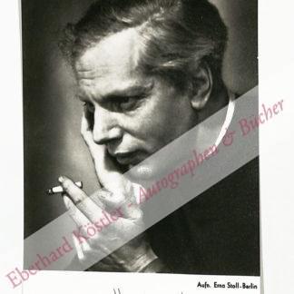 Blacher, Boris, Komponist (1903-1975).