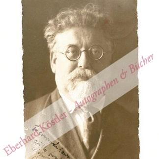 Rocker -  Pfemfert, Franz, Publizist und Porträtfotograf (1879-1954).