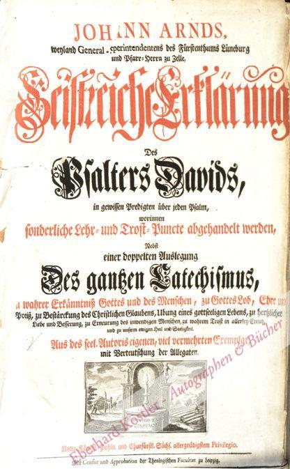 Arndt, Johann, Theologe (1555-1621).
