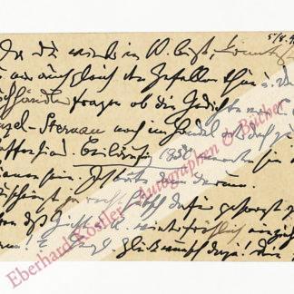 Brahms, Johannes, Komponist (1833-1897).