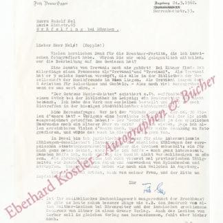 Egger, Fritz Bruno, Geigensammler (Daten nicht ermittelt).