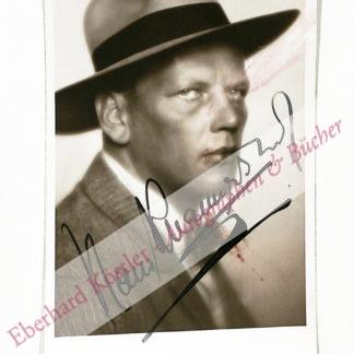 Knappertsbusch, Hans, Dirigent (1888-1965).