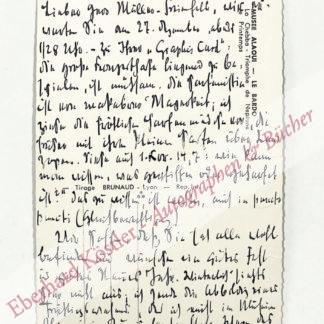 Jünger, Friedrich Georg, Schriftsteller (1898-1977).