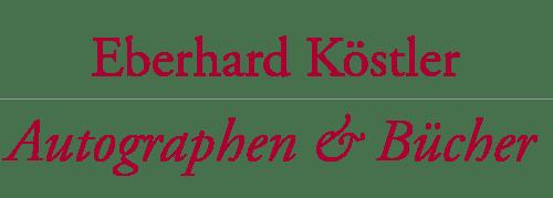 Autographen und Buecher