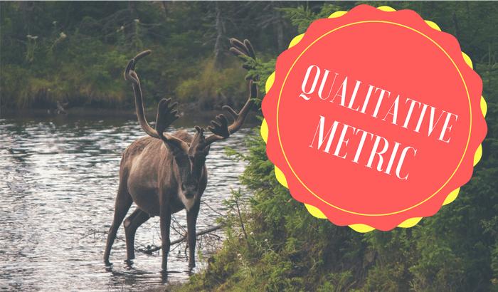 metrica de vendas qualitativa