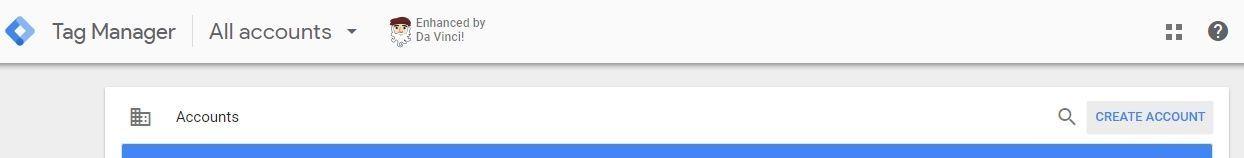 criar conta Google Tag Manager