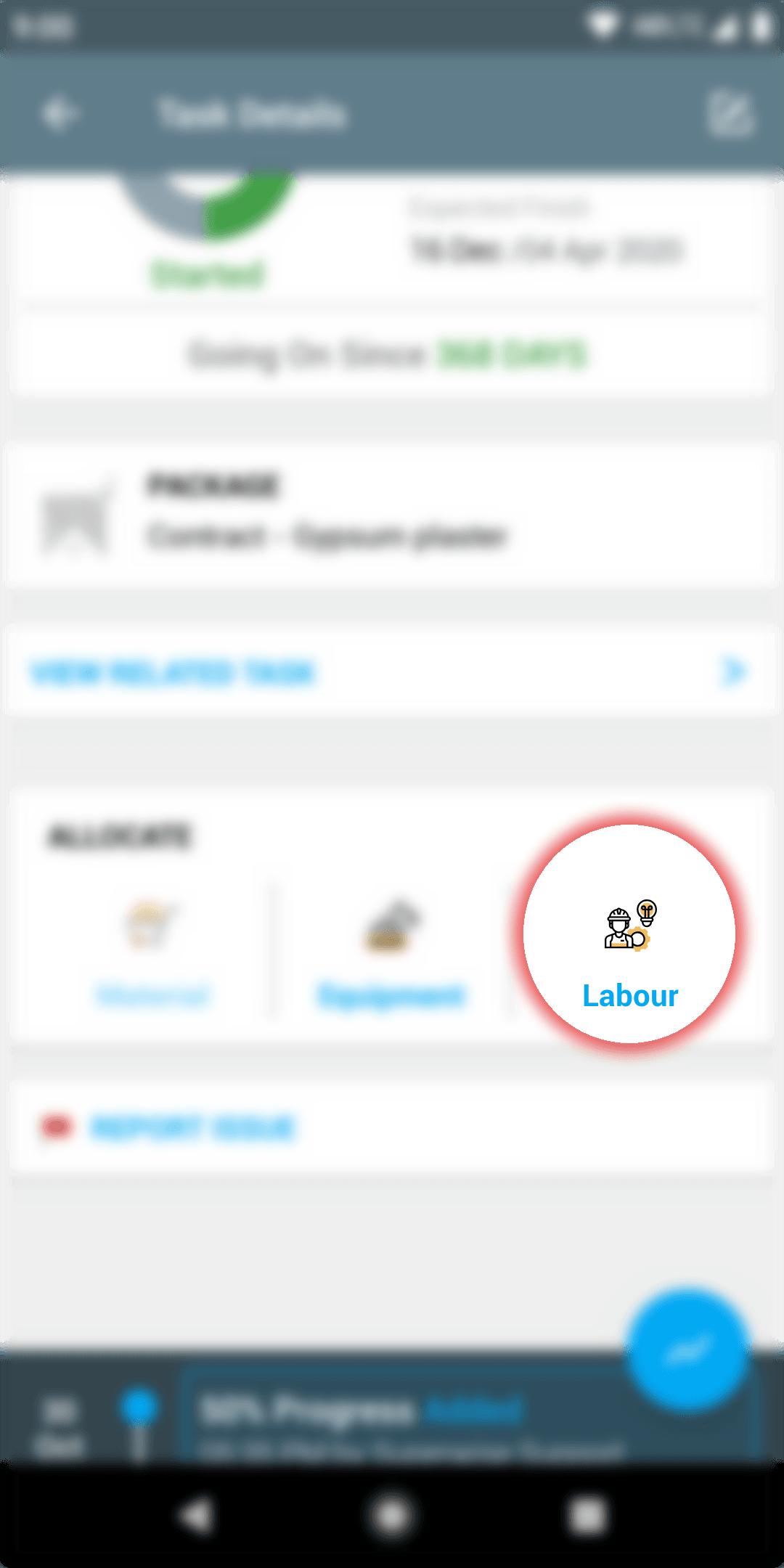Track Labour Productivity