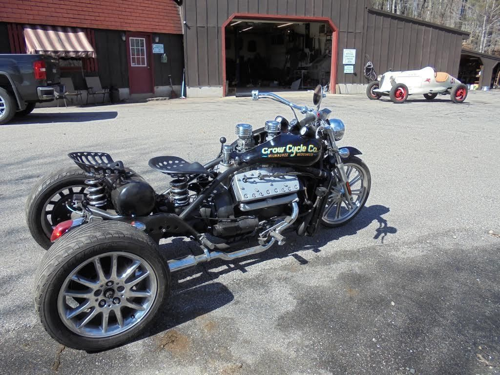 1959 Flathead V 8 Custom Trike