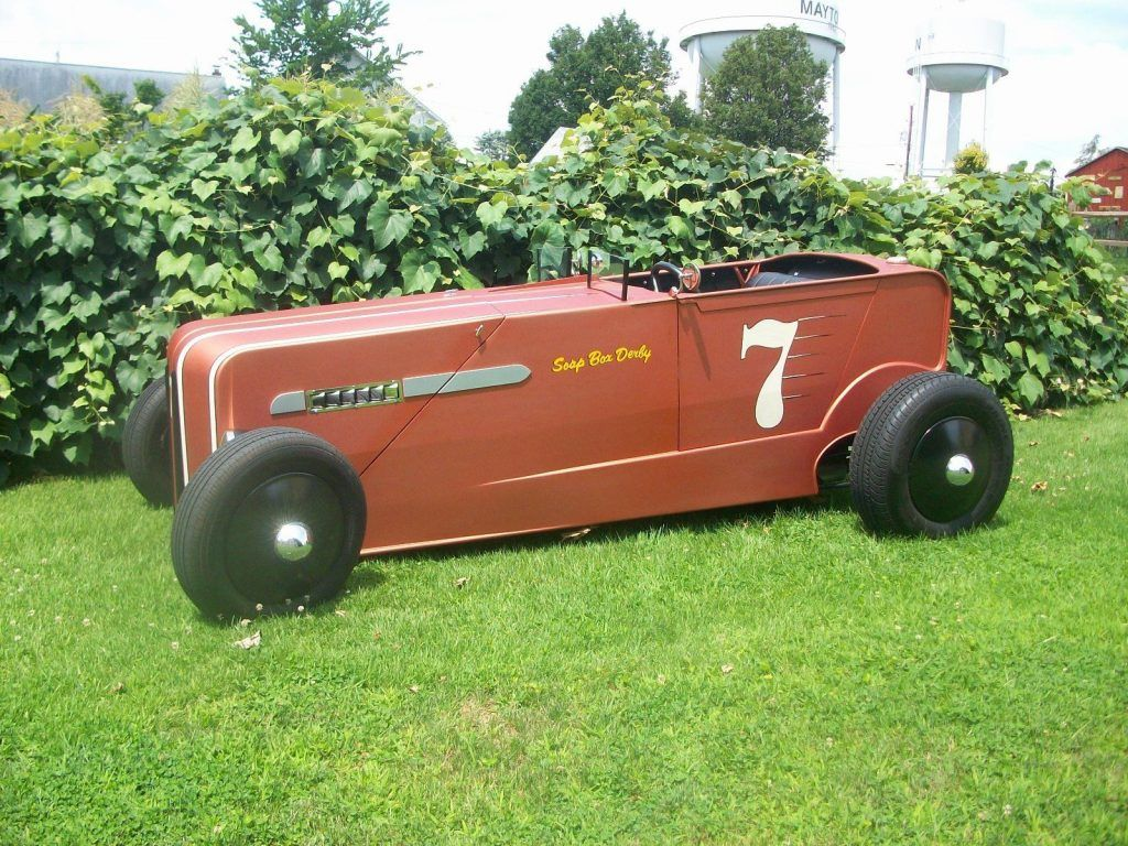 Custom handbuilt, one of a kind, Speedway T chassis, Chevolet Motor roadster