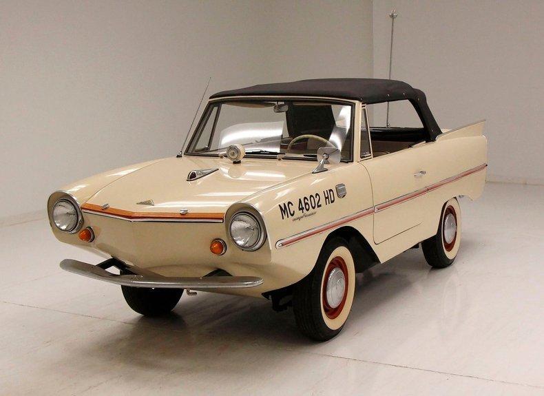 1964 Amphicar Model 770 Beach Sand White/Triumph Herald 70ci Engine