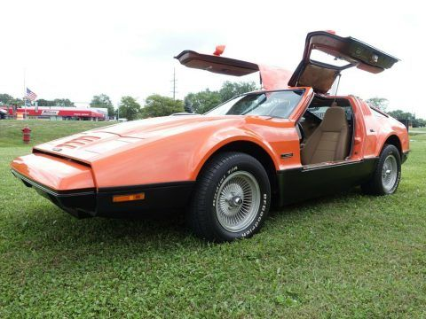 1975 Bricklin SV1 Gull Wing Saftey Vehicle [Only 12,825 Miles] for sale