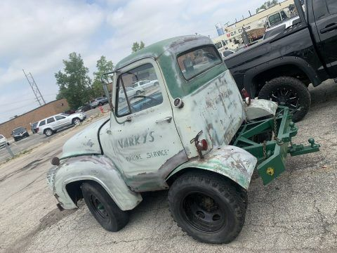 1953 Ford F250 Green 4WD Manual truck for sale