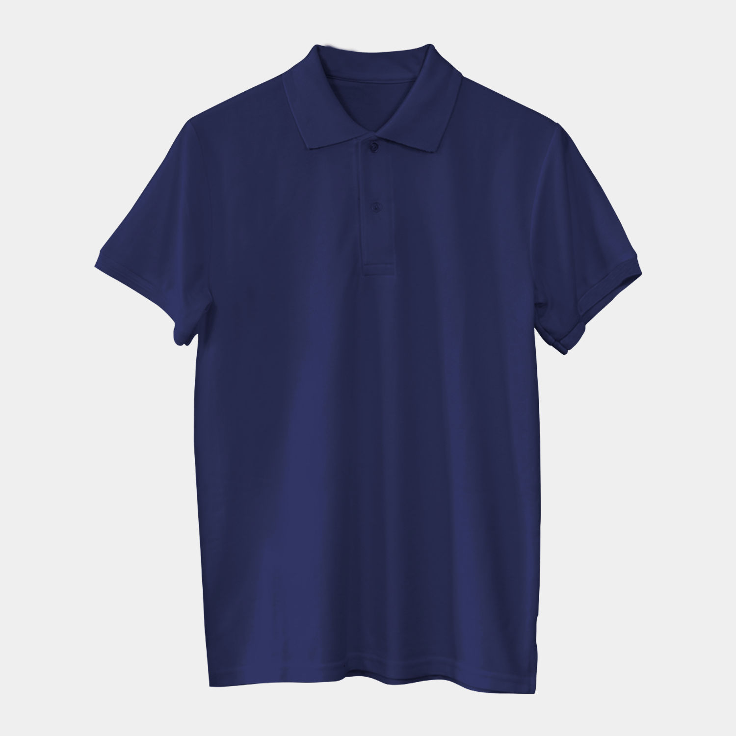 Solids: Navy Blue Polo