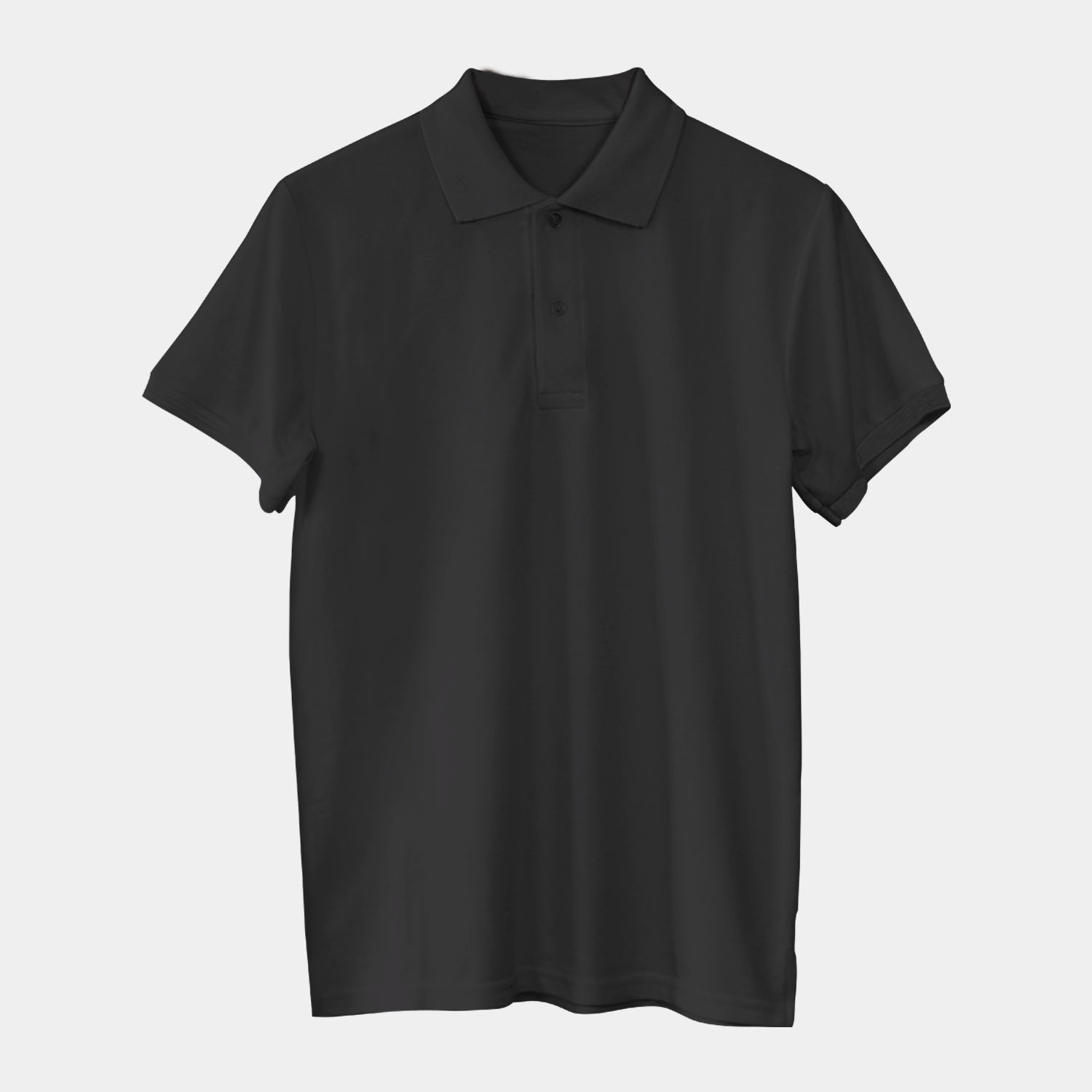 Solids: Black Polo