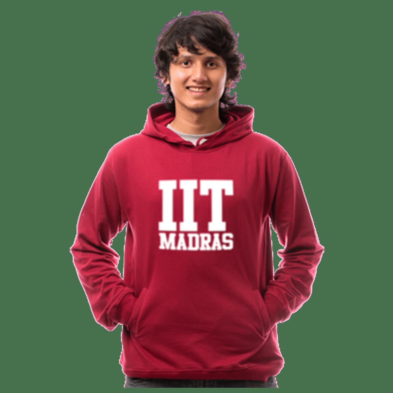 IIT-M Hoodie-Maroon