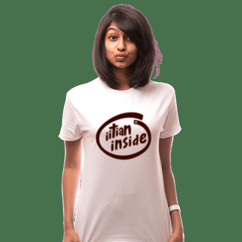IITian Inside White Tee