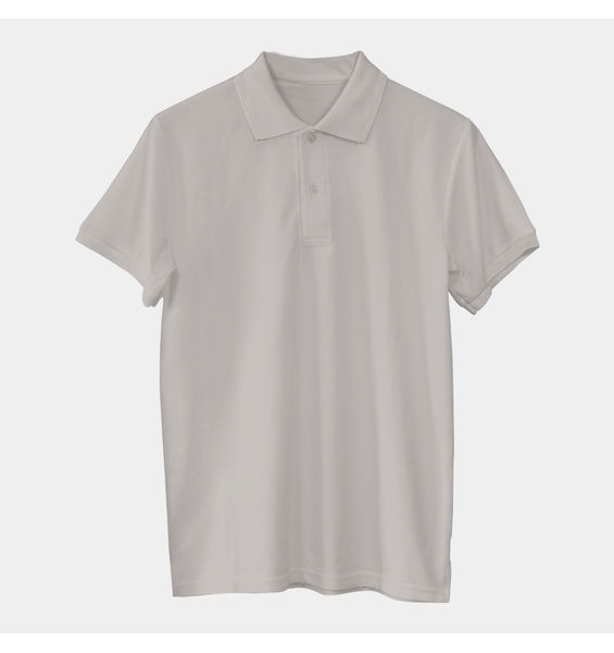 Solids: Grey Polo