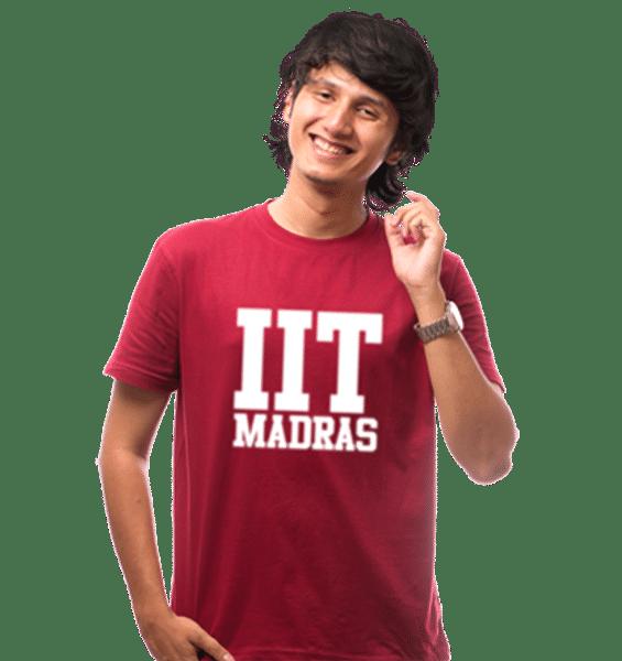 IIT-M Tee- Maroon