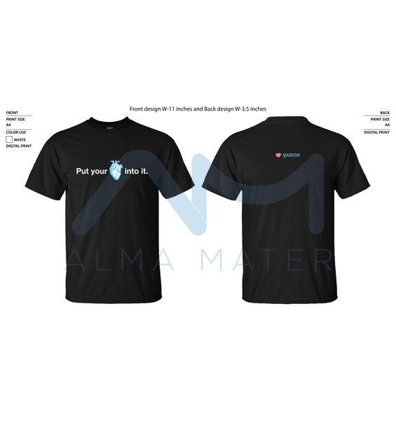 Marrow Round Neck  T-Shirt2