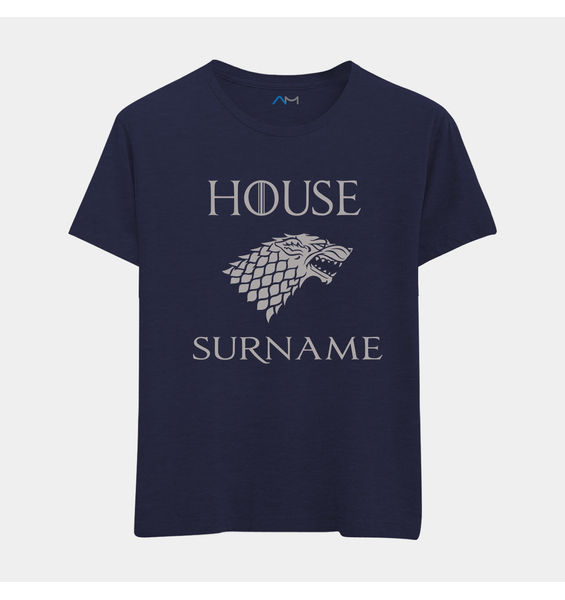 House Tshirt with Personalized Text