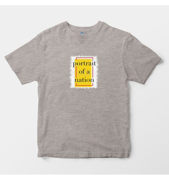 Portrait of a Nation Grey Tee