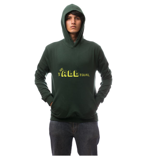 We are equal Hoodie-Green