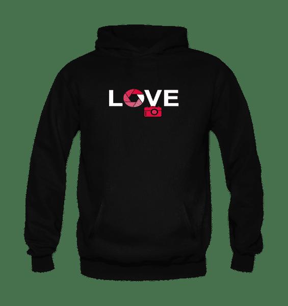 Love Hoodie-Black